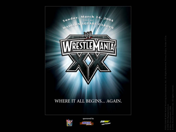 WWE Wrestlemania 20 - Where It All Begins...Again.